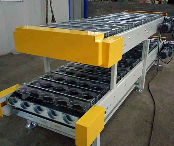双层工装链板机